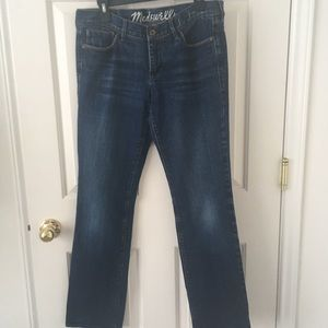 Madewell Rail Straight Jeans / Size 30